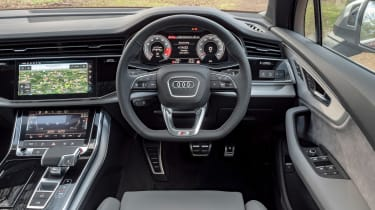 Audi SQ7 SUV interior