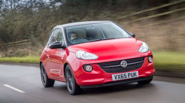 The Vauxhall Adam is based on the Corsa, but looks far more funky