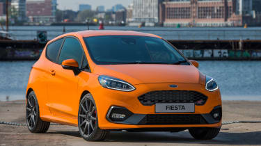 Ford Fiesta ST Performance Edition front view