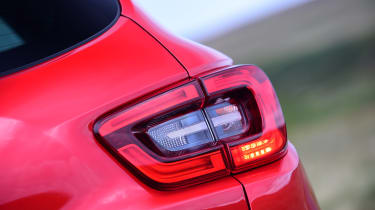 Distinctive rear lights are an easy recognition point on the Kadjar