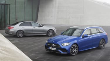 2021 Mercedes C-Class saloon and estate