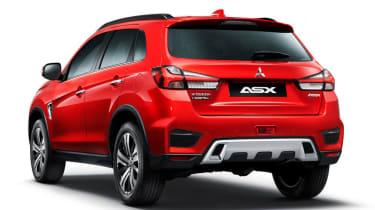 2020 Mitsubishi ASX - Rear static
