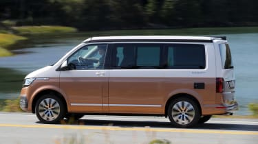 Volkswagen California side panning