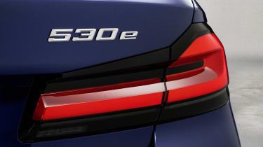 New 2020 BMW 5 Series saloon - rear badging