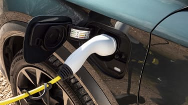 Cupra Formentor SUV review charging cable