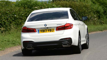The BMW 5 Series hybrid is capable of fuel economy of up to 141mpg and emissions of 46g/km of CO2