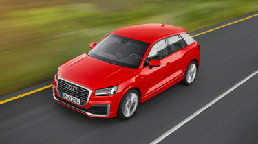 The Q2 has more car-like styling than other Audi SUVs