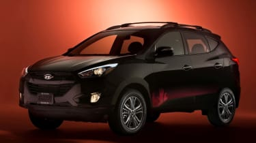 Hyundai Tucson Walking Dead