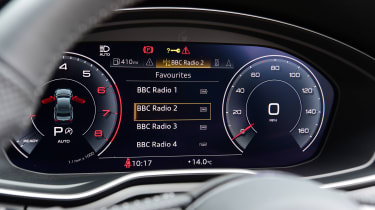 Audi A5 Coupe digital instruments