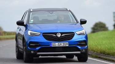 The Grandland X sits at the top of Vauxhall's SUV range, ahead of the Crossland X and Mokka X