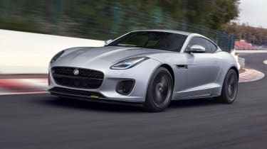 The Jaguar F-Type has been updated for 2017, with changes including redesigned bumpers.