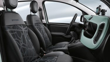 Fiat Panda mild hybrid seats