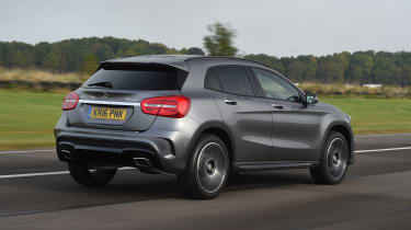 2020 Mercedes GLA (2014-2020) rear 3/4 tracking