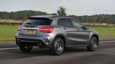 2020 Mercedes GLA (2014-2020) rear 3/4 tracking