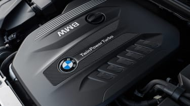 BMW 3 Series Touring estate engine bay