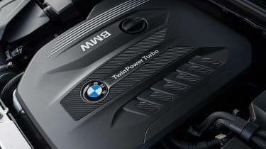 BMW 3 Series Touring estate engine bay