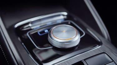 MG ZS EV interior dial
