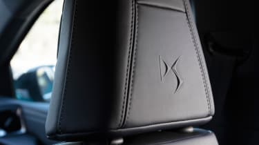 DS 3 Crossback 2019 interior upholstery
