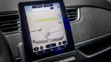 New Renault ZOE - infotainment screen sat nav