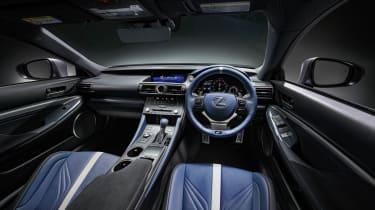 Lexus RC F 10th Anniversary interior