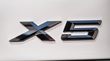 BMW X5 badge