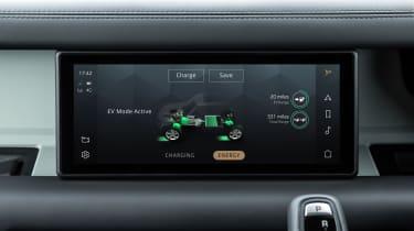 2020 Land Rover Defender 110 P400e plug-in hybrid - infotainment screen