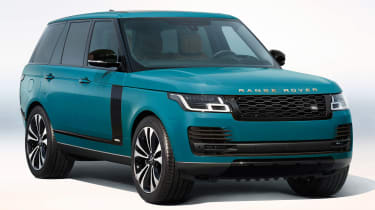 Range Rover Fifty in Tuscan Blue