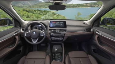 2019 BMW X1 SUV - interior wide