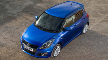 suzuki swift sport five door hatchback 2013 top