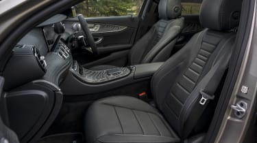 Mercedes E-Class saloon - front interior side view