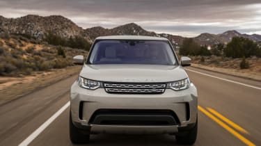 The new Discovery is also far sleeker-looking than its predecessor, which helps aerodynamics, and therefore economy