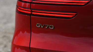 Genesis GV70 SUV badge