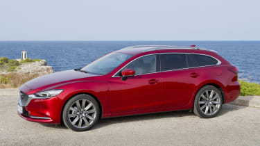 Mazda6 Tourer left side view