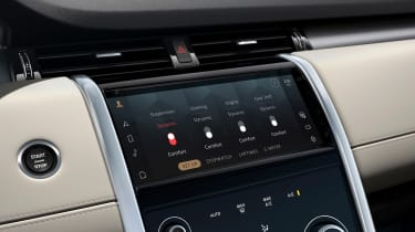 2020 Land Rover Discovery Sport screen - dynamic settings