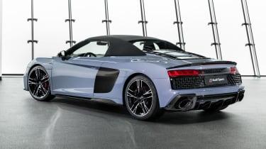 2019 Audi R8 Spyder rear