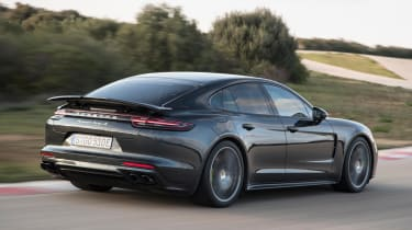 The Turbo S E-Hybrid is only available in standard five-door hatchback guise