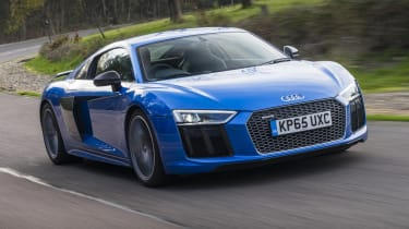Audi R8 - front 3/4 view