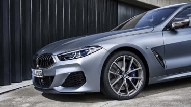 BMW 8 Series Gran Coupe - front quarter close up