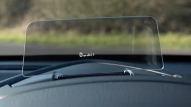 Mazda2 head-up display