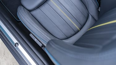 MINI Sidewalk Convertible seat pattern
