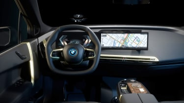 BMW iX dashboard