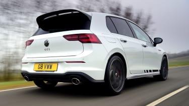 Volkswagen Golf GTI Clubsport rear tracking