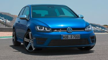 Volkswagen Golf R 2014 front quarter static