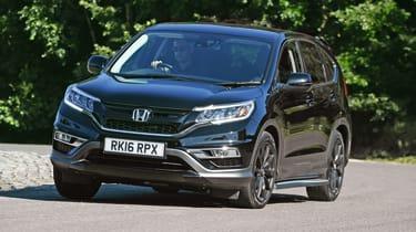 Honda CR-V - front 3/4 dynamic