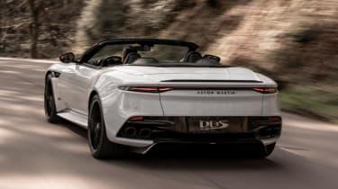 Aston Martin DBS Superleggera Volante - rear driving