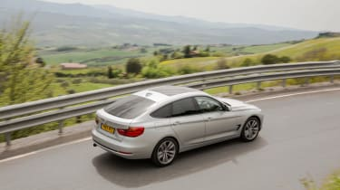 The 3 Series GT has more rear legroom than the saloon and a 520-litre hatchback boot