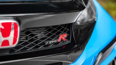 Honda Civic Type R front badge
