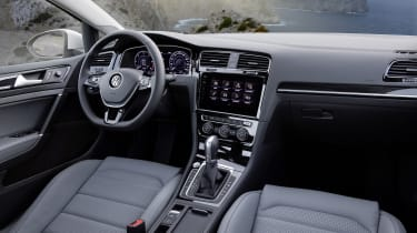 Quality finishes abound, and an excellent infotainment system uses an eight-inch touchscreen display