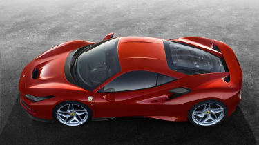 Ferrari F8 Tributo top and side