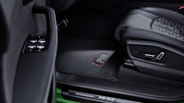 Audi RS Q8 illuminated entry plates
